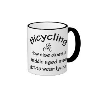 Bicycling Ringer Mug