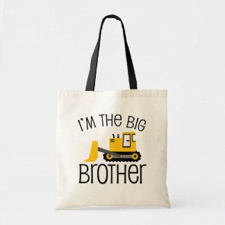 Big Brother Construction Front Loader Budget Tote Bag
