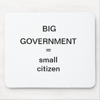 BIG GOVERNMENT MOUSE PAD