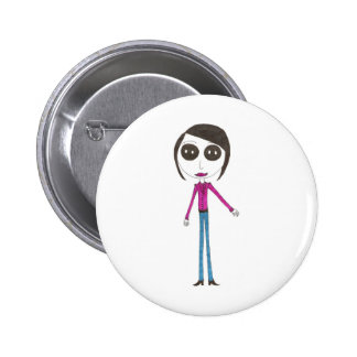 Big Head Button girl