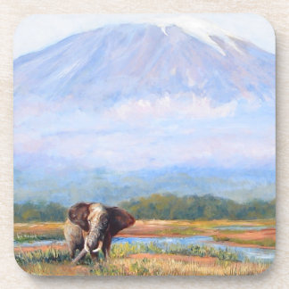 Big is an objective word beverage coaster