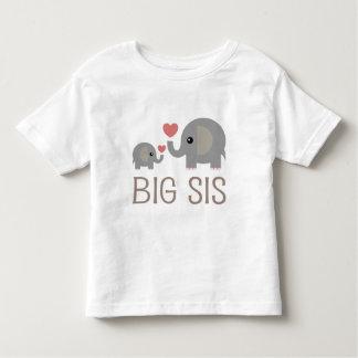 Big Sis Elephant Heart Tee Shirt