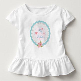 Big Sister Cute Toddler Ruffle Shirt