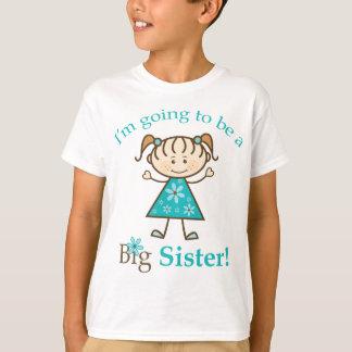 Big Sister To Be Stick Figure Shirt