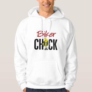 Biker Chick Hooded Sweatshirt