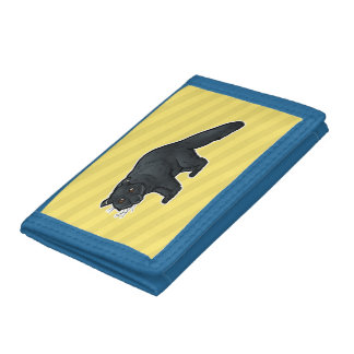 Binturong Tri-fold Wallet