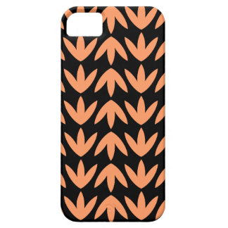 Bird Feet - Peach and Black.pdf iPhone 5 Cases