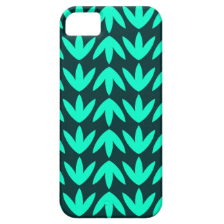 Bird Feet - Turquoise and Dk Green.pdf Barely There iPhone 5 Case