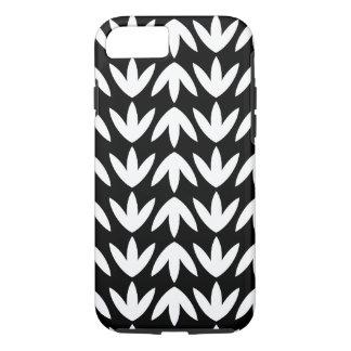 Bird Feet - White on Black iPhone 7 Case
