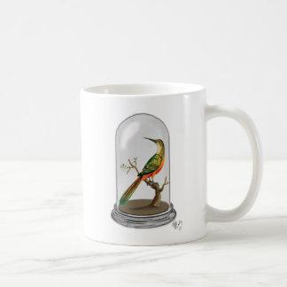 Bird In Bell Jar Basic White Mug