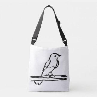 Bird Inking Cross Body Bag Tote Bag