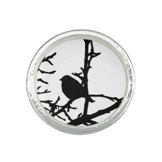 Bird on a Branch Ring