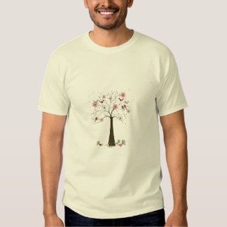 Birds and Blossoms T Shirts