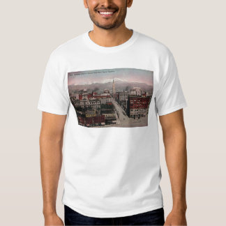 Bird's Eye View of Denver, CO in Early 1900's T Shirt