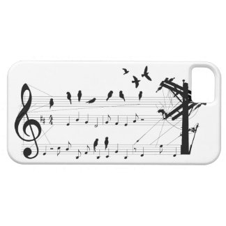 Birds on a Score iPhone 5 Covers