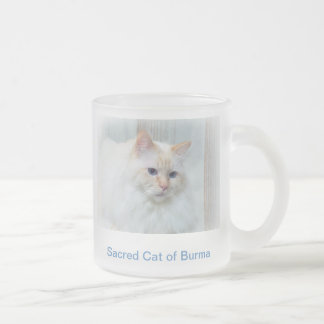 Birman Cat Frosted Mug