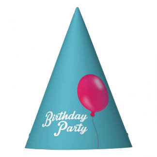 Birthday Balloon Party Party Hat
