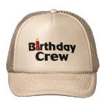 Birthday Crew Cap