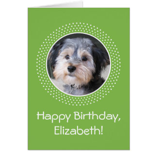 Birthday Customizable Photo Greeting Card