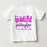 Birthdays Christmas Parties Beautiful Goddaughter Tshirts