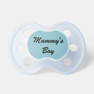 Bites with text baby pacifier