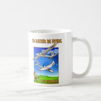 Bixler I'd Rather Be Flying Basic White Mug