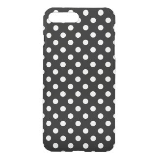 Black  and White Polka Dot Pattern iPhone 7 Plus Case
