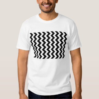 Black and White Zigzag Shirts
