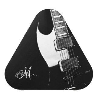 Black Electric Guitar Personalized Speaker