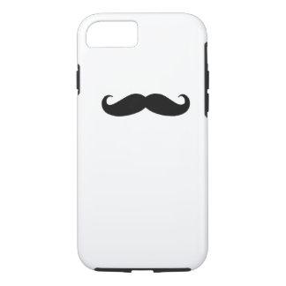 Black Mustache iPhone 7 Case