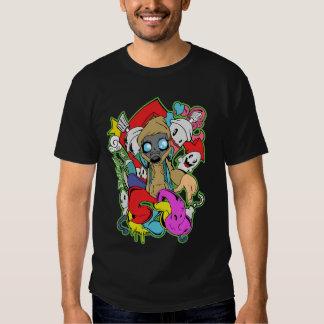 Black Spray T-shirts