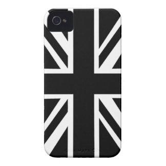 Black Union Jack Blackberry Bold Case