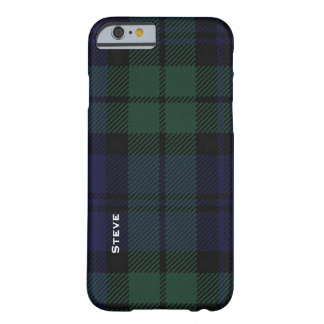Black Watch Tartan Plaid Barely There iPhone 6 Case