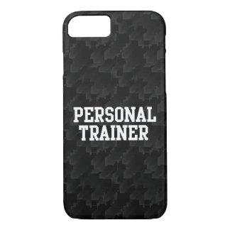 Black/White Block Personal Trainer iPhone 7 Case