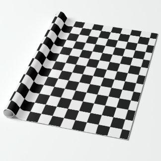 Black White Classic Checker Checkered Flag
