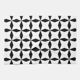 Black & White Geo Kitchen Towel