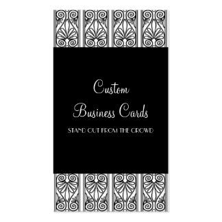 Black & White Pack Of Standard Business Cards
