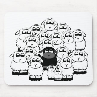 blacksheep mouse pad