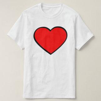 Blank Heart Insert Name T-Shirt