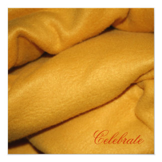 Blanket 13 Cm X 13 Cm Square Invitation Card