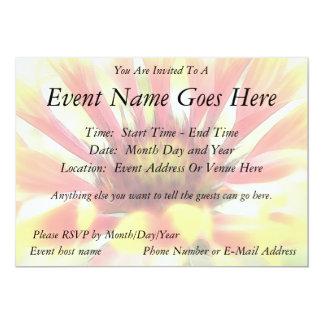 Blanket Flower Blossom 13 Cm X 18 Cm Invitation Card