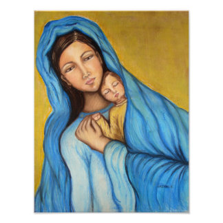 Blessed Mother Poster