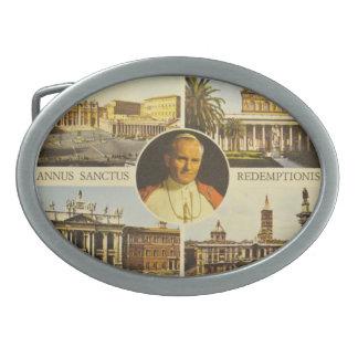 Blessed Pope John Paul II Belt Buckle