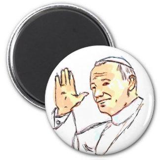 Blessed Pope John Paul II Magnet