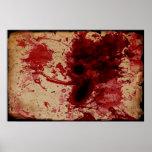 Blood Splatter Poster