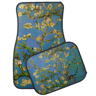 Blossoming Almond Tree by Van Gogh, Fine Art Floor Mat