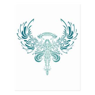 Blue Ange Postcard