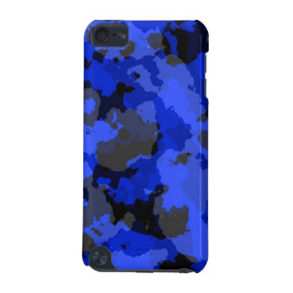 Blue Camouflage iPod Touch Case