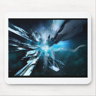 Blue Design Collection Mouse Pad