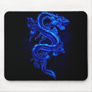 blue-dragon-black-fire mouse pad
